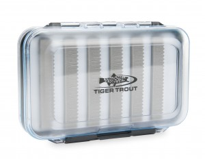 Dwustronne Pudełko Muchowe Tiger Trout Medium Fly Box B