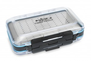 Dwustronne Pudełko Muchowe Tiger Trout Medium Fly Box A